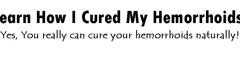 Hemorrhoids Cure